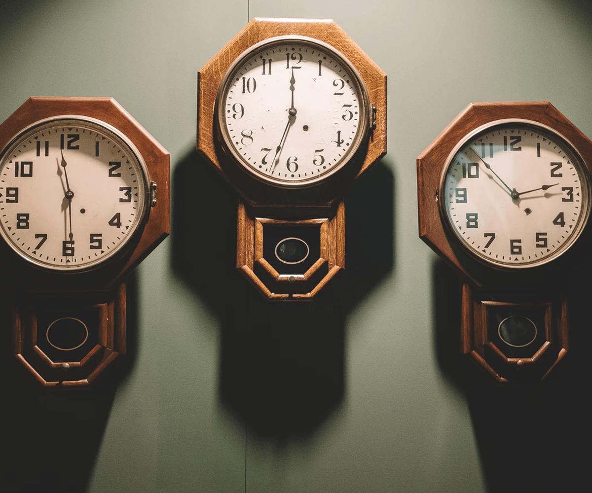 three clocks save time Orbit Same Day Richmond Virginia